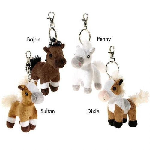 Wendy's Soft Horse Keyring - 4 to collect!